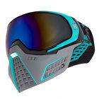 *NEW* HK Army KLR Paintball / Airsoft Mask - Slate Black/Teal