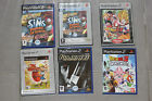 Divers Jeux Playstation 2 PS2 Sims, Dark Chronicle, Dragonball z, Jak & Daxter,