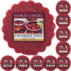 10 YANKEE CANDLE WAX TARTS Cranberry Twist MELTS