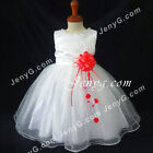 #NLR6 Baby Girls Christening Baptism Evening Birthday Party Night Gowns Dresses