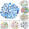 20x Glass Mix 10mm Round Dome Cameo Cabochon for Jewellery&Model Making