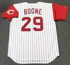 BRETT BOONE Cincinnati Reds 1994 Majestic Throwback Home Baseball Jersey on Ebay