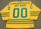 CHICAGO COUGARS 1970s WHA Vintage Throwback Customized Hockey Jersey