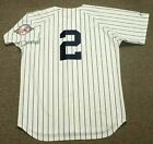 DEREK JETER New York Yankees 2003 Majestic Cooperstown Home Baseball Jersey