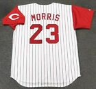 HAL MORRIS Cincinnati Reds 1994 Majestic Throwback Home Baseball Jersey on Ebay