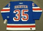 MIKE RICHTER New York Rangers 2003 CCM Throwback Home NHL Hockey Jersey