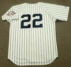 ROGER CLEMENS New York Yankees 2003 Majestic Cooperstown Home Baseball Jersey