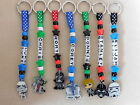 Personalised Keyring bag tag Bagtag Star Wars Yoda Vader Stormtrooper Luke C3PO