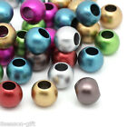 Gift Wholesale Acrylic European Charm Beads Round Mixed 12mm Dia.