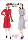 Butterick 6282 Retro '41 Vintage Style 40s Dress Belt Sewing Pattern B6282 WW2