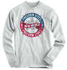 Freedom Lives New Mexico State T Shirt American Flag Patriotic Long Sleeve Tee
