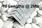 "Aluminium Angle 10 @ 2 Mtr Long Lengths sizes fron 1/2"" to 2"" Trade Pack"