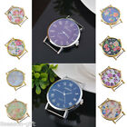 Gift Fashion Flower Floral Print Watch Face for Watch Jewellery Making Craft DIY
