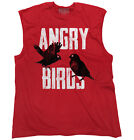 Angry Birds Game Shirt | Funny Gift Idea for Kids Movie Pigs Sleeveless T Shirt