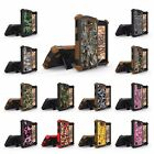 For LG SPREE/Optimus Zone 3 /K4 /VS425 Armor Hybrid Kickstand Tough Case CAMO