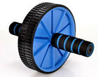 Dual Abdominal Gym Wheel AB Roller Exercise Fitness Training Equipment Workout