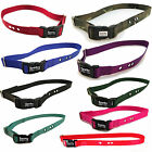 "Sparky PetCo Dog Bark Replacement 1"" Collar with 3 pre-cut holes 8 Colors"