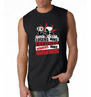 Men's SLEEVELESS Winner 3 Gain Losers Exercise Goku Super Sayian Dragon Ball Tee
