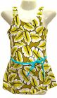 Girls Beachwear/ Swimwear, Artistic,  All in one, Bottom attached, S 318, New