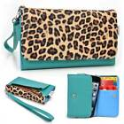 Safari Pattern Protective Wallet Case Clutch Cover for Smart-Phones SFESAMMT-6