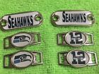 2 ~ Seattle Seahawks NFL Paracord Charms Oval or Mini Dog Tag shoelace charms on eBay