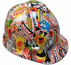 """""""WILD-SIDE"""" HYDRO DIPPED Women/Children Small Size Safety Hard Hats 2 Styles!"""