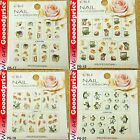 Color Printing Water Tranfer Nail Art Sticker Rabbit Penguin Xmas Style 6-1720