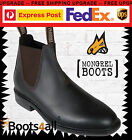 New Mongrel Work Dress Riding Chelsea Boots Brown Leather Australian Made 816030