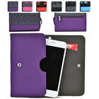 Womens Protective Wallet Case Cover for Smart Cell Phones by KroO ESDC-4 MD