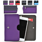 Womens Protective Wallet Case Cover for Smart Cell Phones by KroO ESDC-18 MD