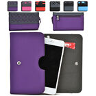 Womens Protective Wallet Case Cover for Smart Cell Phones by KroO ESDC-25 MD