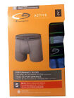 """C9 by Champion BOYS boxer briefs 5-Pack """"ACTIVE Performance"""" DUO DRY NEW"""