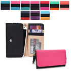 Protective Wallet Case Clutch Cover & Organizer for Smart-Ph