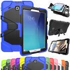 Hybrid Rugged Hard Shockproof Cover Rubber Case For Samsung Galaxy Tab 3/4 A/E