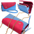 Womens Link Wallet Case & Crossbody Clutch Cover for Smart Cell Phones CRWL10