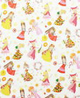 FAIR MAIDENS PRINCESS WHITE ALEXANDER HENRY QUILT SEWING FABRIC Free Oz Post *