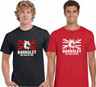 BARNSLEY T SHIRT we fear no-one sports fc small to 5XL