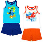 Boys Disney Pixar Finding Dory Nemo & Marlin Vest Top & Shorts Set 3 to 6 Years