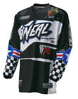 O'Neal Mens & Youth Black/Blue/White Element Afterburner Dirt Bike Jersey MX ATV
