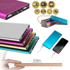Ultrathin 20000mAh Power Bank Portable External Battery Charger For Mobile Phone