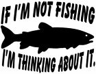If Im Not Fishing Trout Decal STOF Outdoors Fishing Bumper Sticker