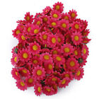100pcs Artificial Daisy Flowers Heads for Wedding Party AD