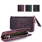 Slim Croc Smartphone Wallet Case & Wristlet Card Holder ESXLZP11