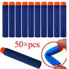 Kids Toy For NERF N-Strike Gun Bullet Darts Round Head Blue Blasters 100 pcs M#