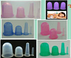 Medical Silicone Massage Slimming Vacuum Body Facial Cups Anti Cellulite Cupping