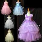 #PF8 Girls Wedding Graduation Cocktail Pageant Party Evening Formal Gown Dress