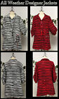 Aristocratic,High end all weather desiger jacket.Medium to 3XL. Plus size jacket