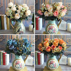 Beautiful Large Palace Earl Rose Bouquet Artificial Flowers Hotel Wedding