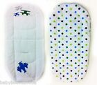 Buggy Summer Liner Padded for Pram Pushchair Stroller Reversible Pad Cushion bn