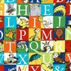 DR SEUSS ALPHABET ANIMALS PATCH ROBERT KAUFMAN QUILT COTTON FABRIC *Free Oz Post